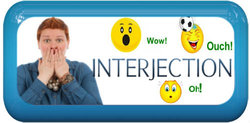 E Interjections