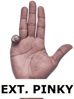 5 Hand Ext Pinky