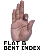 flat b bent index